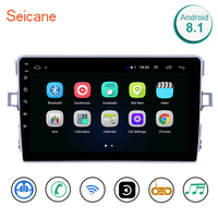 Seicane Car GPS Navigation Unit Player 2din Android 8.1 4 core AutoStereo Radio For Toyota Verso 2011 2012 2013 2014 2015 2016
