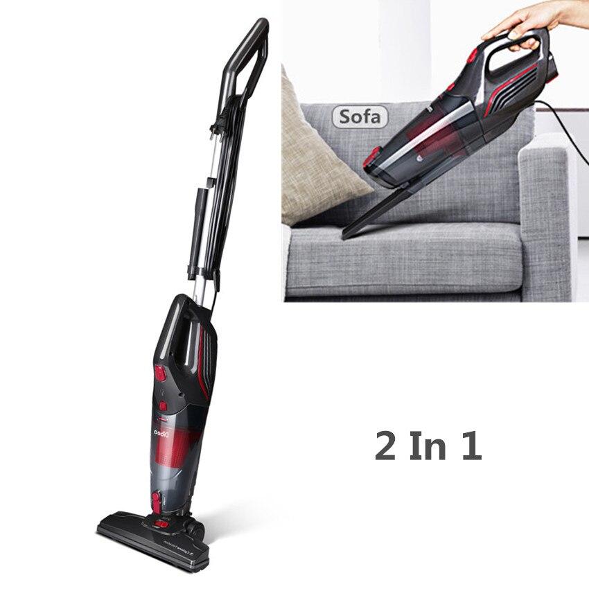 Dibea SC4588 Corded Vacuum Cleaner with Handheld Dust Collector Multifunctional Brush Household Stick Aspirator Vacuum Cleaner