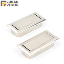 Brushed surface,Clamshell ,Invisible,hidden furniture drawer small handle ,Embedded installation, Home furniture Hardware