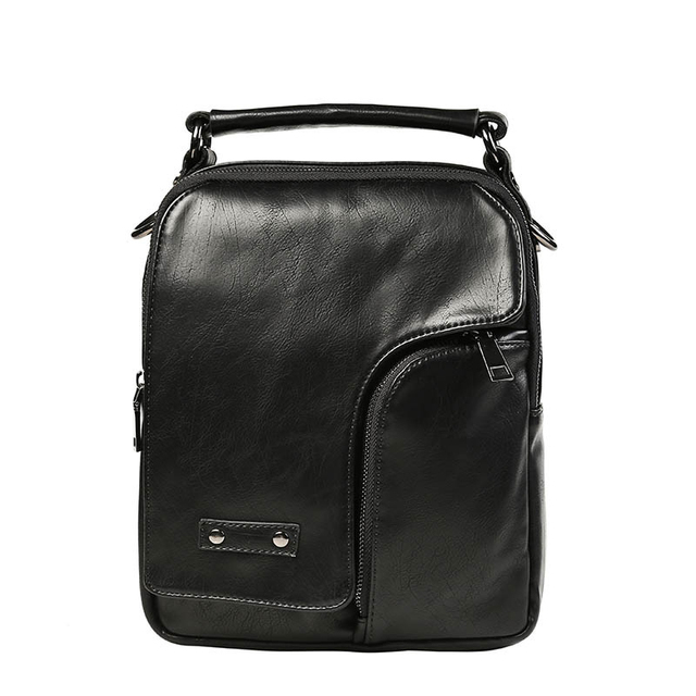 ae2c1163ebf9 New Arrival Mens Messenger Bags Business Men Handbag Zipper Crossbody Bag  Solid PU Leather Shoulder Bags