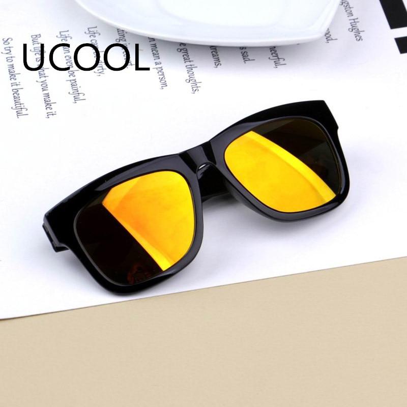 UCOOL Colorful Mercury Reflective Lens Barn Sunglas Cses Oculos - Kläder tillbehör