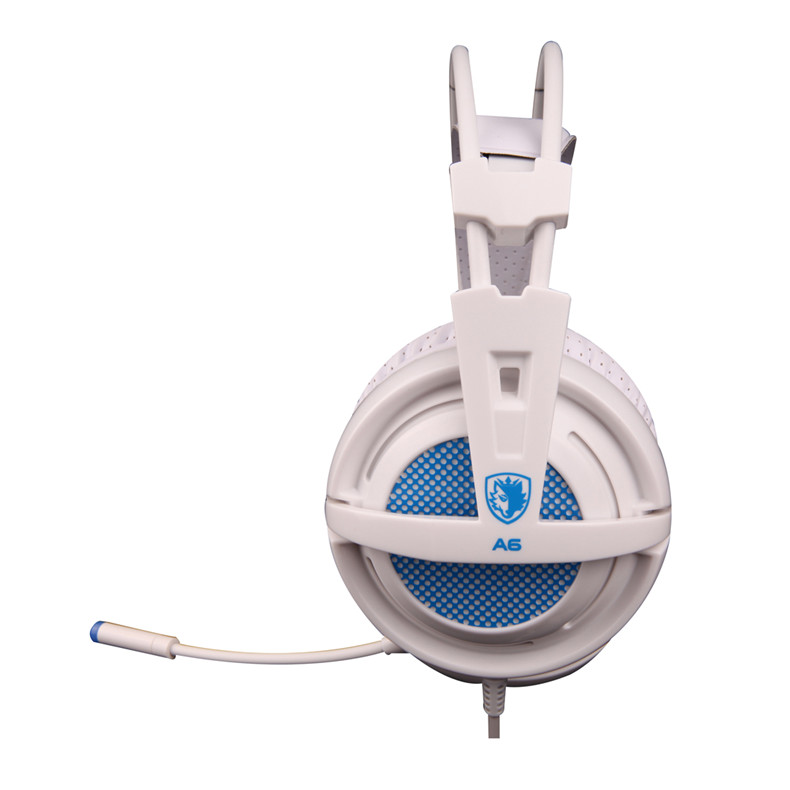 Sades A6 Gaming Headphones 7.1 Surround Sound Stereo USB Game Headset with Microphone Breathing LED Lights for PC Gamer (8)