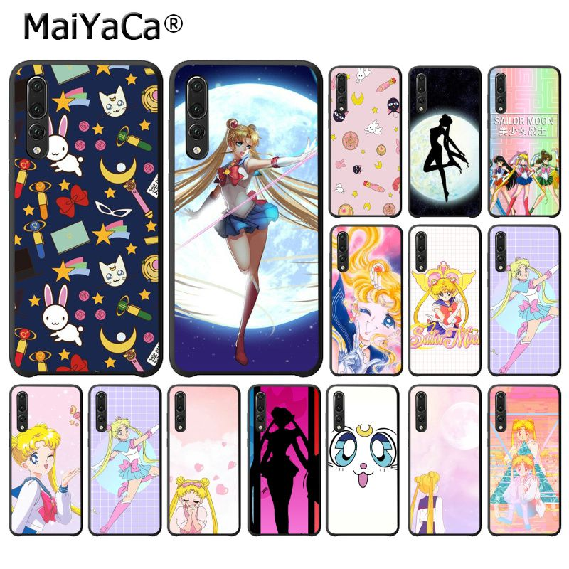 The Best Maiyaca Girl Sailor Moon Anime Soft Phone Case For Huawei P20lite P10 Plus Mate10lite 20pro P20 Pro Honor10 View10 Phone Bags & Cases