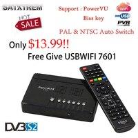 2018 최신 1080 마력 X800 수용체 DVB-S2 위성 수신기 HD 셋톱 무료 줄 usbwifi