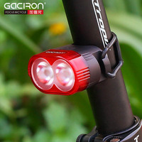 W9 Bicycle Cycling Rear Light Taillight LED Red Flash Light Safety Warning Lamp Cycling Safety Caution Lights Bike Smart Tail