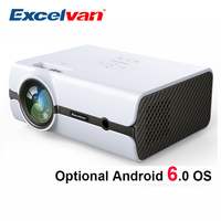 Excelvan BL45 BL46 2000Lumen LCD Projector (Optional Android Wifi Bluetooth 1G+8G) Home Cinema 1080P LED TV Multimedia Projecyor