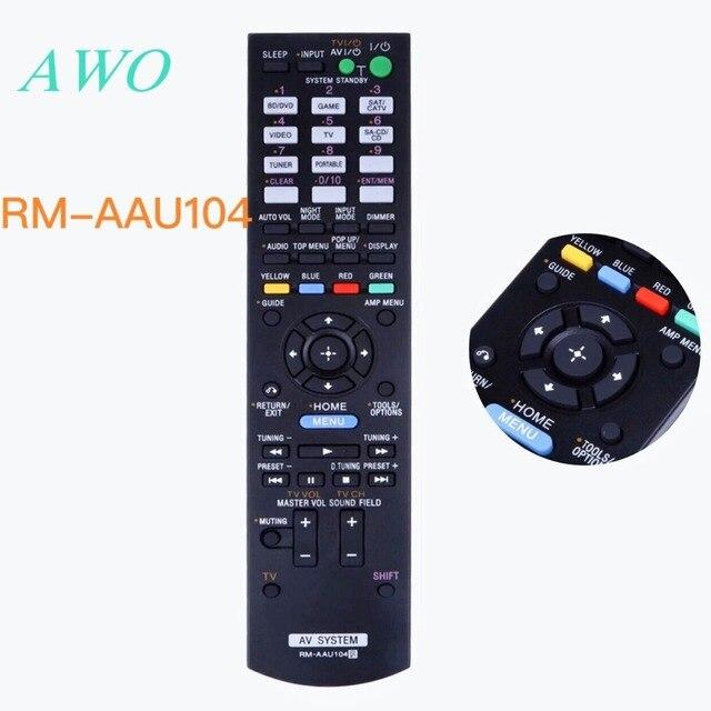 เปลี่ยนรีโมทคอนโทรล Controller สำหรับ Sony RM AAU104 RM AAU105 RM AAU106 RM AAU107 STR DH520 STR DN610 STR DH710 STR DH720