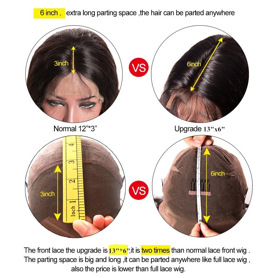 Gelombang rambut dalam rambut palsu Lace Depan Gelang rambut manusia - Rambut manusia (untuk hitam) - Foto 5