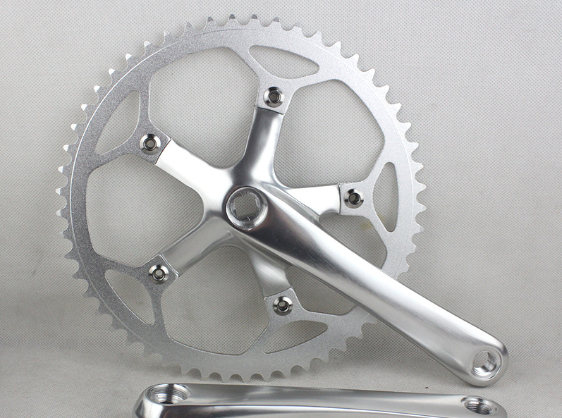 53T Gear tooth disc 130BCD Chainring Sprocket Folding Bike Crankset 53T Single Speed folding bicycle crank 11t reduction gear box dual sprocket single sprocket for 47cc