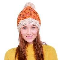ChamsGend 2017 Hot Sale Fashion Women Warm Crochet Winter Wool Knit Ski Beanie Skull Caps Rabbit