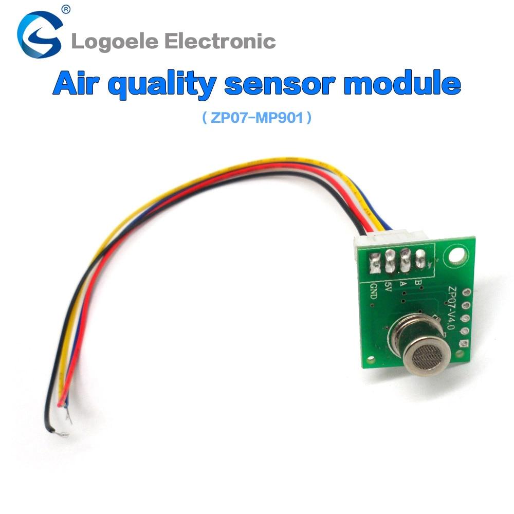 High quality Air quality sensor module Air mass sensor module ZP07 MP901 air pollution module free shipping 2225066030 high quality maf 22250 66030 mass air flow sensor for toyota 22250 66030 22250 66010