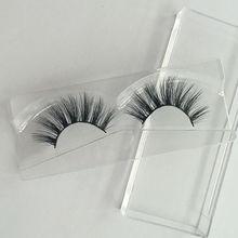 1Pair eyelashes Natural Makeup 3d Mink Lash Extension real siberian mink strip eyelashes for Make Up