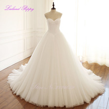 LCELAND POPPY A-line Wedding Dress Sleeveless Floor Length