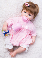 Soft Body Silicone Reborn Baby Doll Toy