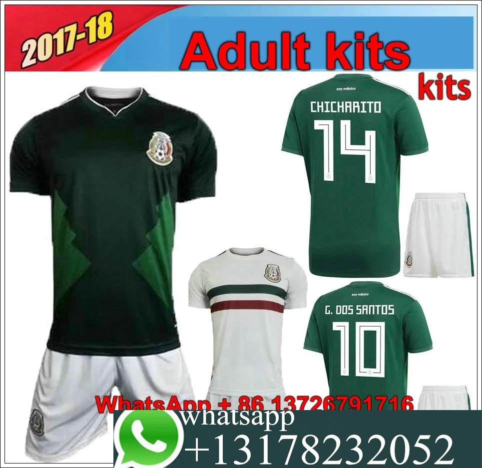 171d281a4 Mexico National Soccer Jersey 2017 - Joe Maloy