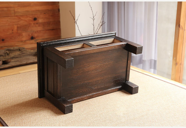Japanese Antique Furniture Tea Table Wooden Storage Cabinet Two Drawer  Paulownia Wood Asian Traditional Living Room Furniture - Online Shop Japanese Antique Furniture Tea Table Wooden Storage
