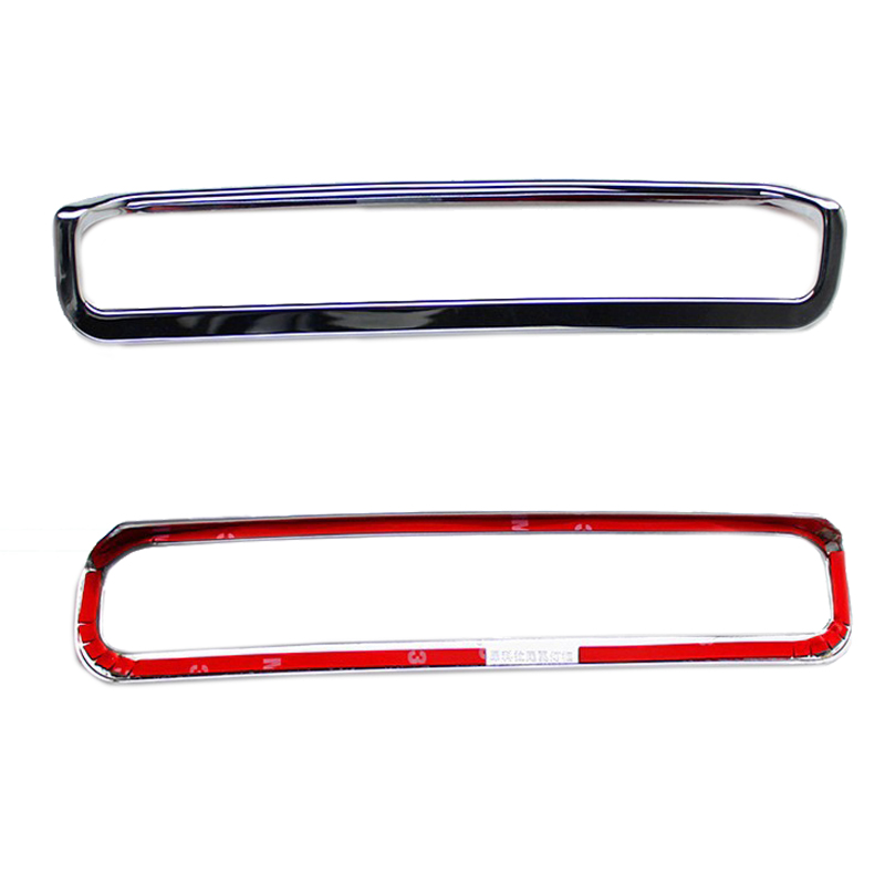 Car styling rear spoiler light cover fit for Buick Encore OPEL VAUXHALL MOKKA 2013 2014 abs chrome 1pc lsrtw2017 304 stainless steel car window trims for opel mokka buick encore bitter mokka 2013 2014 2015 2016 2017 2018 vauxhall