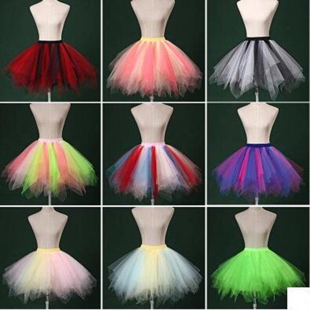 ef9d91bb7e El nuevo color modelos de explosión falda tutú netas velo departamento faldas  falda de la princesa