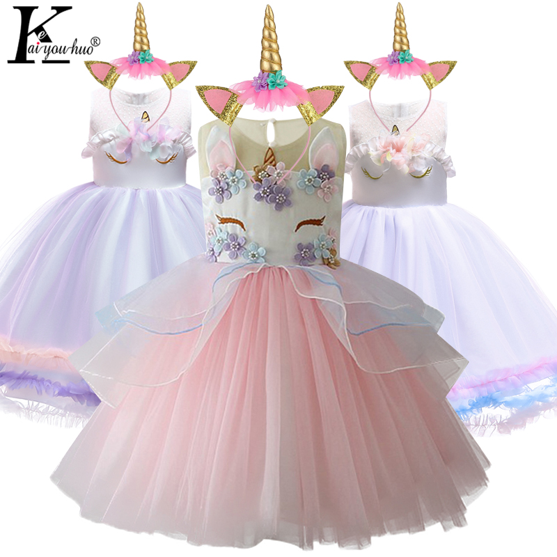 Women Gown Easter Unicorn Social gathering Women Princess Gown Cinderella Elsa Carnival Costume Wedding ceremony Clothes For Toddler Moana Clothes