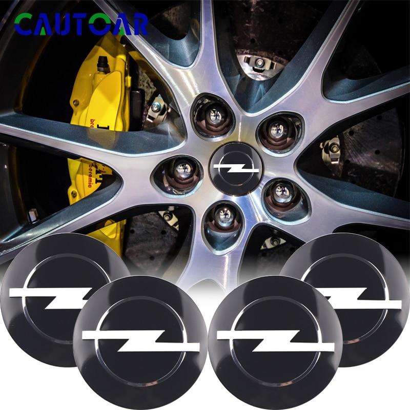 Car Styling 4Pcs 56mm Wheel Center Hub Cap Stickers emblems For Opel Zafira a b Astra h g j k f Mokka Corsa b c d Vectra Insign
