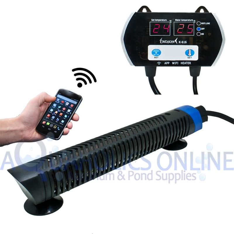 300w 500w Double Lcd Display Mobile Control Wifi Aquarium