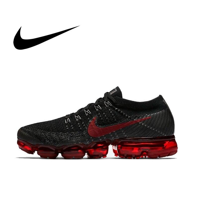 Original authentique Nike Air VaporMax Be True Flyknit chaussures de course pour hommes chaussures de sport de plein Air classique respirant 849558-013