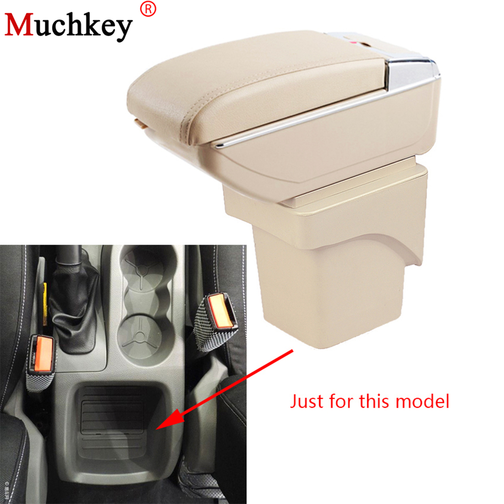 For Ford Focus 2 mk2 2009 2010 2011 Car Armrest box Central Console Arm Store content box cup holder ashtray With Rise and Down universal leather car armrest central store content storage box with cup holder center console armrests free shipping