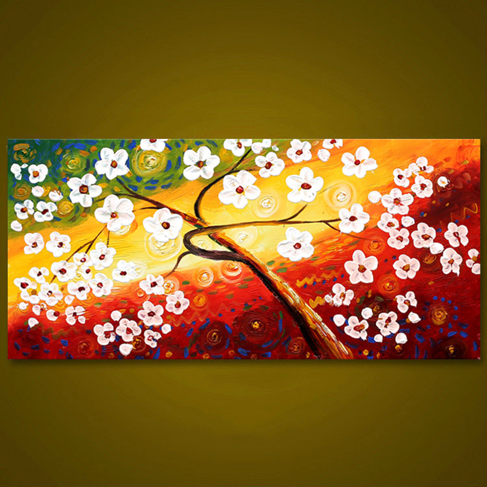 Unframed Thick Textured Modern Hand Painted Palette Knife Oil ...