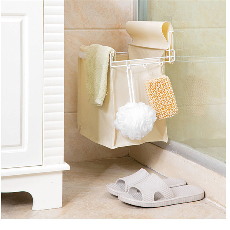 Ziduke Oxford Cloth Dirty Clothes Basket Bathroom Laundry Clothes Wall  Mounted Dirty Clothes Basket In Laundry Bags U0026 Baskets From Home U0026 Garden  On ...