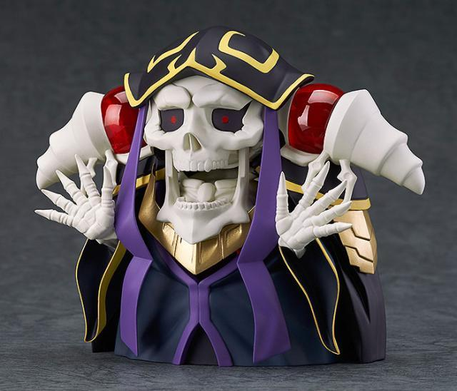 Anime Overlord Ainz OOal Gown Nendoroid 631 Cute Kawaii Super Hero 10cm Action Figure Toys 1