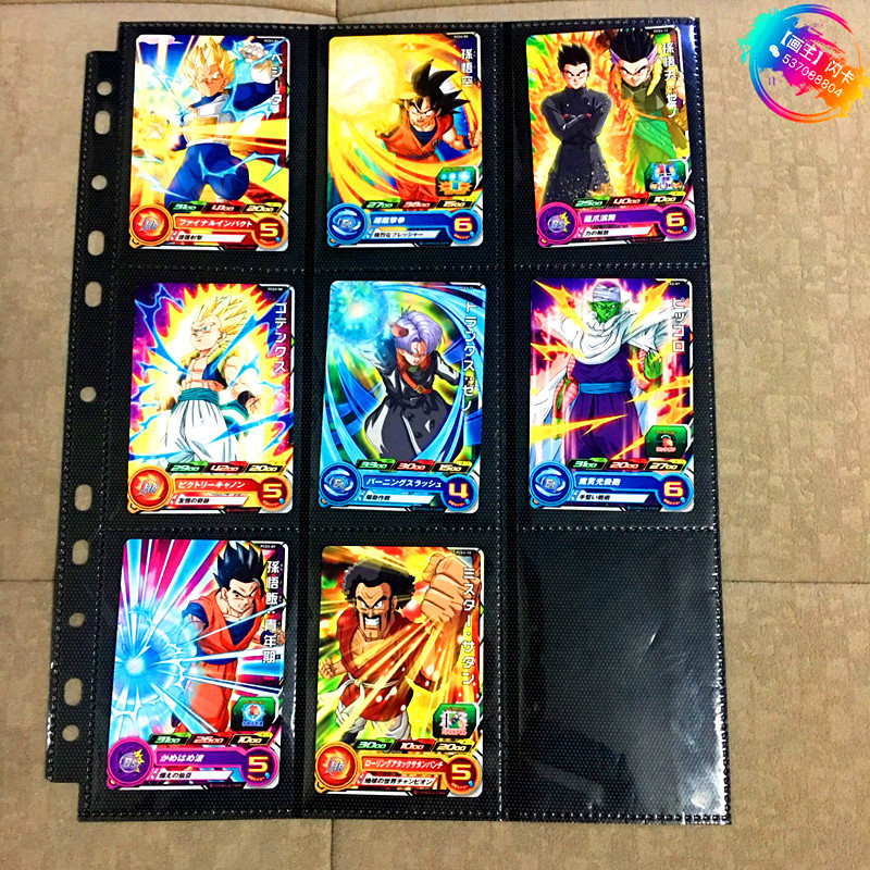 Japan Original Dragon Ball Hero Card PCS3 Goku Toys Hobbies Collectibles Game Collection Anime Cards