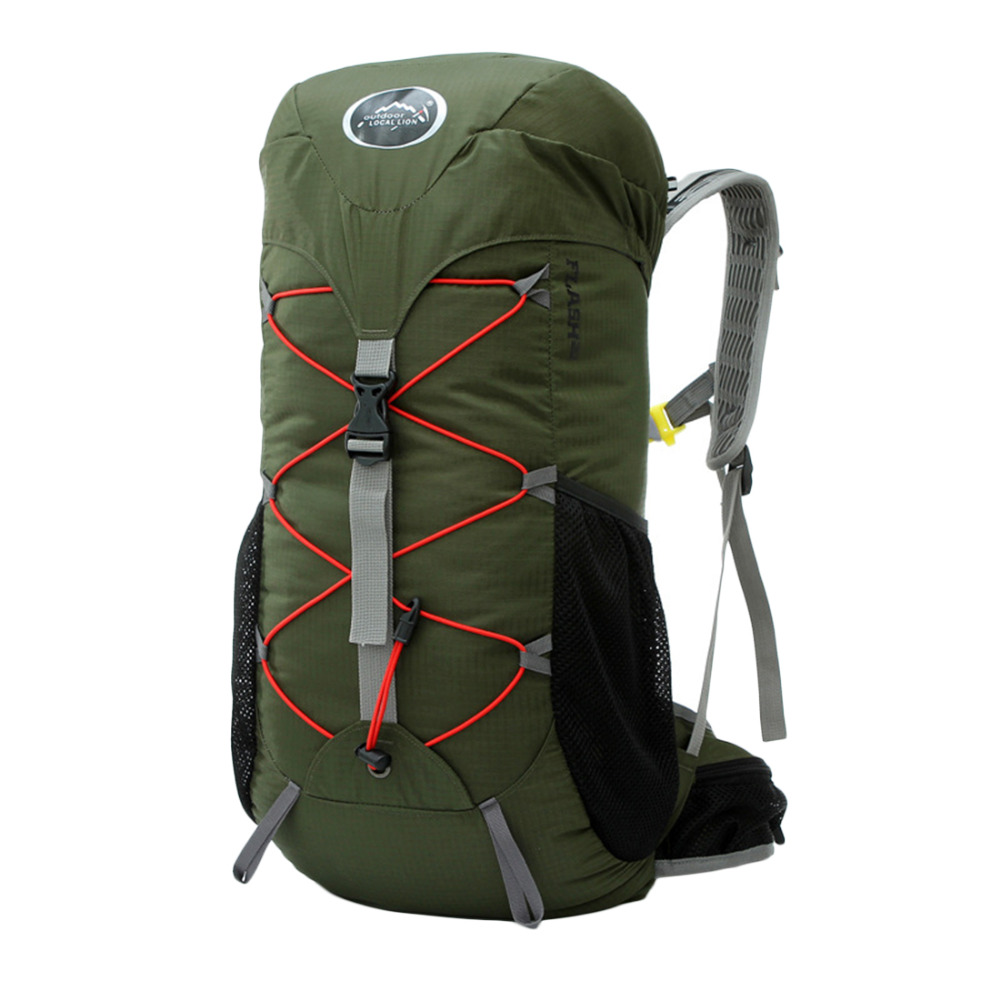 Local Lion 35L Outdoor Camping Bag Waterproof Ultralight Hiking Internal Frame Backpack Men Rucksack Free Shipping