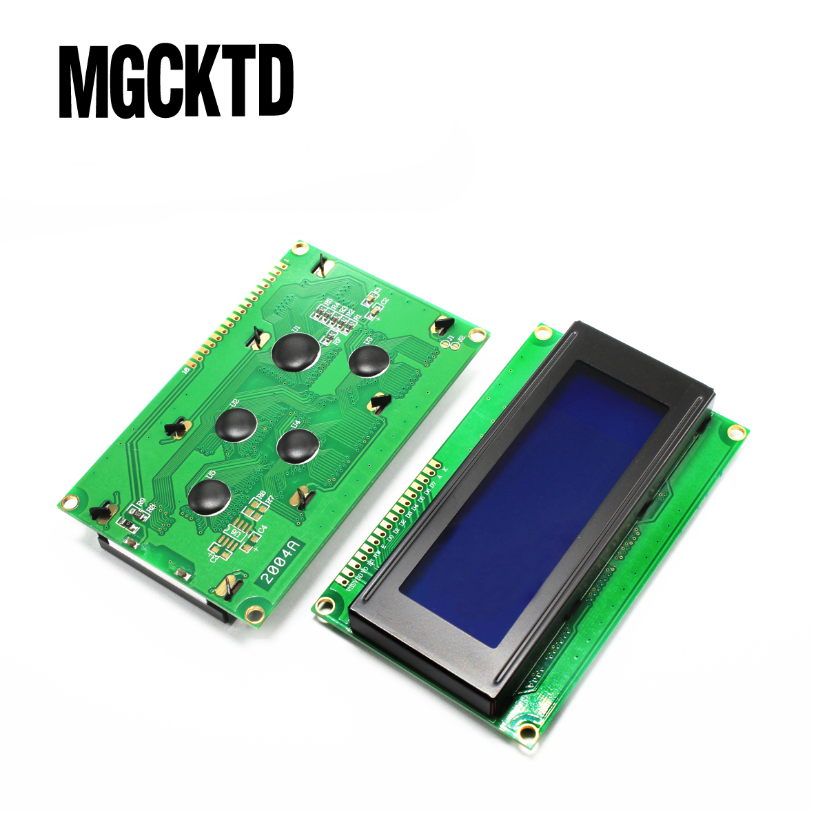 5pcs/lot LCD2004 LCD Board KS0066 HD44780 Blue Screen LCD Display 5V LCD Module 20*4 LCD 2004 High Quality