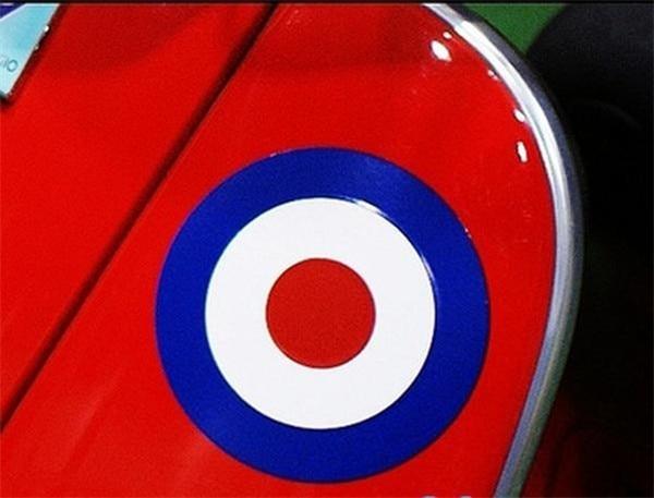 Концентрические наклейки-круги Синий Белый Красный Светоотражающие наклейки мото спортивные наклейки для PIAGGIO Мотоцикл Vespa moto r автомобиль