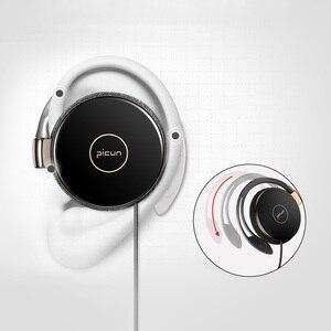 Image 5 - RUKZ auriculares estéreo L1 con gancho para la oreja para teléfono inteligente, dispositivo HiFi para correr, Control de volumen