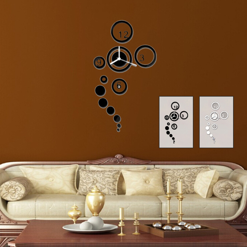 Online get cheap trendy wall clocks for Trendy apartment decor
