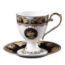 Европейский стиль, роскошный Пномпень, костяной фарфор, кофейная чашка, блюдо, набор, британский, элегантный, послеобеденный, чайный набор, керамическая, Цветочная чашка, блюдце