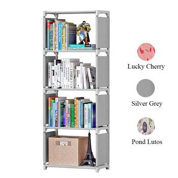meerdere cube kinderen boekenkast eenvoudige gemonteerd speelgoed boek opbergkast display stand studeerkamer boekenplank voor home decoratie