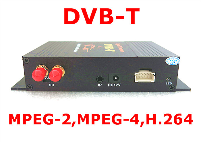 Super Deal Car Auto DVB-T MPEG4 Dual Tuner HD Mobile Digital TV Receiver Box for Europe Car Dvd GPS Car Mpeg2 Two 2 TV Receiver стоимость