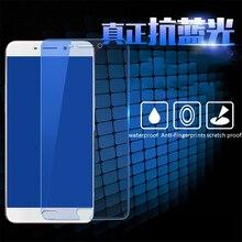 Фотография BUFFLE HD Clear Blue Light Tempered Glass for Samsung Galaxy J3 J5 J7 2016 A3 A5 A7 2016 C7Pro C9Pro 9H Hardnes Explosion Film
