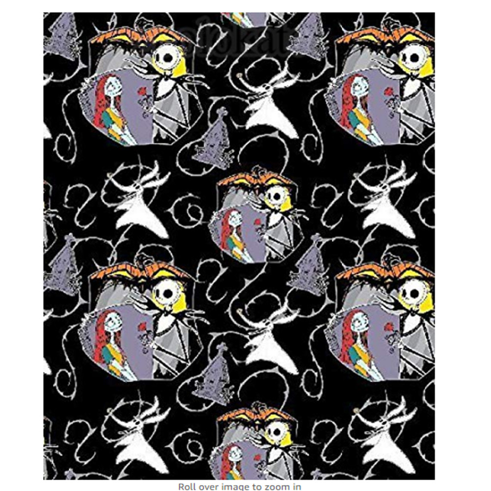Custom Flannel Blankets Design The Nightmare Before Christmas ...