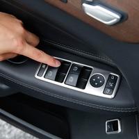 Botão Interruptor de Elevador Janela Guarnição Tampa Maçaneta da porta Quadro Para Mercedes Benz A B W246 W176 C W204 E W212 GLE W166 CIA W117 GLA X156|adesivos automotivos internos| |  -