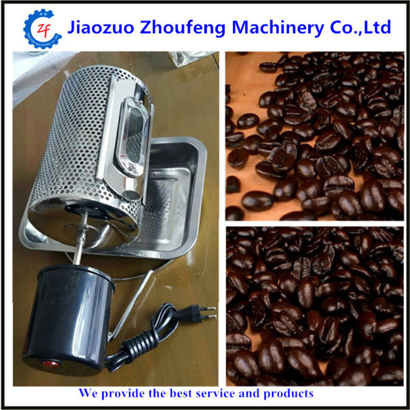 Home use newest design coffee bean roaster electric stainless steel coffee beans roasting machine 110v/220v ZF coffee roaster electric small coffee roasting machine roasted coffee machine home use mini machine zf