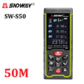 SNDWAY Color display 50m 164ft Digital rechargeable Laser Rangefinder laser distance meter measure tools free shipping