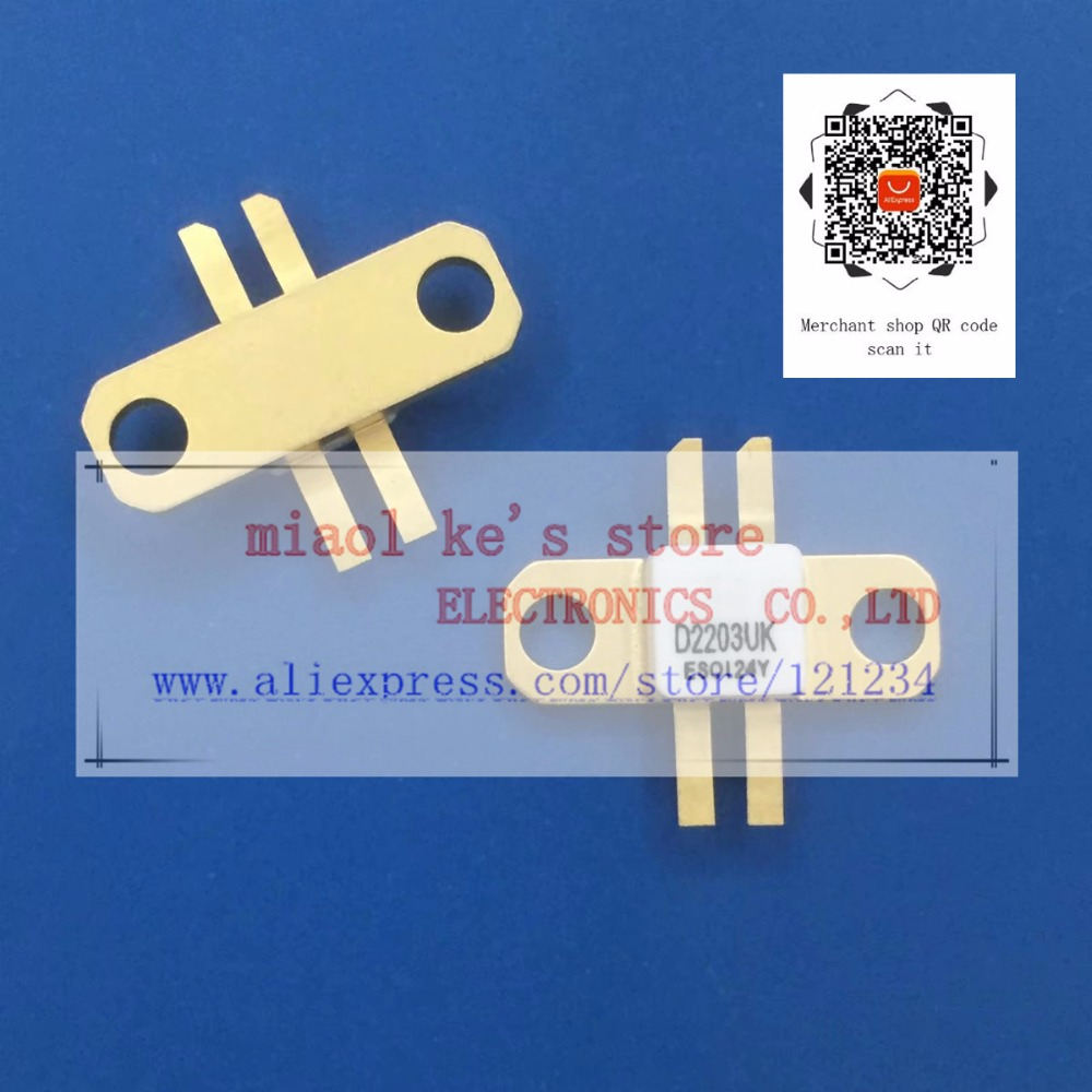 D2203 D2203UK [ 40V 4A 5W 1GHz ]  -  High quality original transistorD2203 D2203UK [ 40V 4A 5W 1GHz ]  -  High quality original transistor