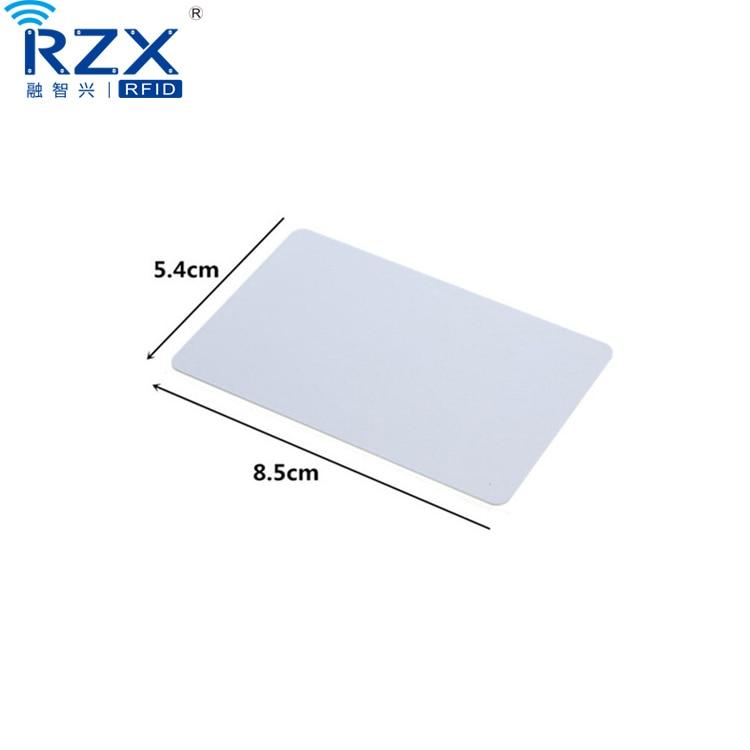 1000PCS FM1108 chip PVC rfid blank card 13 56 Mhz 1K memory rfid card
