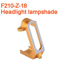 Original Walkera F210 RC Helicopter Quadcopter Spare Parts Front Lamp Shade Headlight Lampshade F210 Z 18