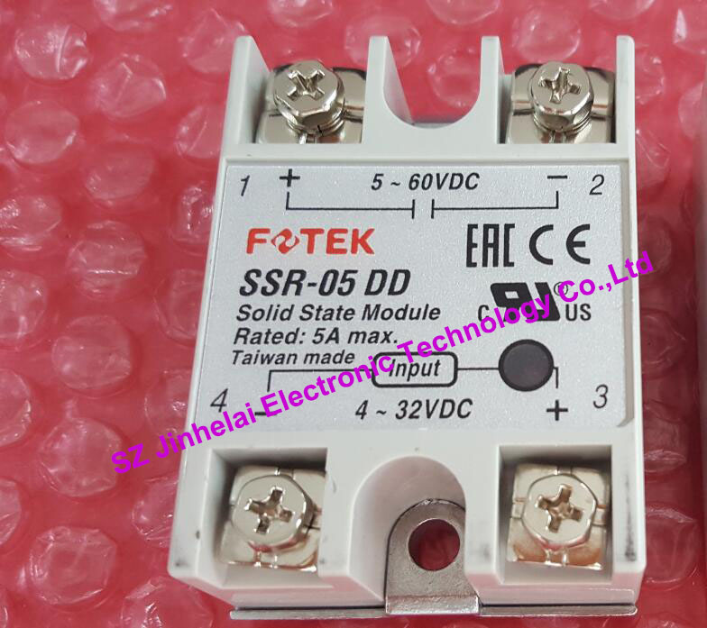100% New and original  SSR-05DD   FOTEK  SOLID STATE RELAY 100% new and original fotek photoelectric switch a3g 4mx mr 1 free power photo sensor