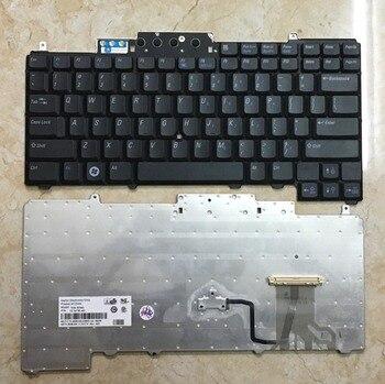 Клавиатура для ноутбука DELL Latitude D620 D630 D631 D820 D830 PP18L Клавиатура для ноутбука Версия США с указателем мыши
