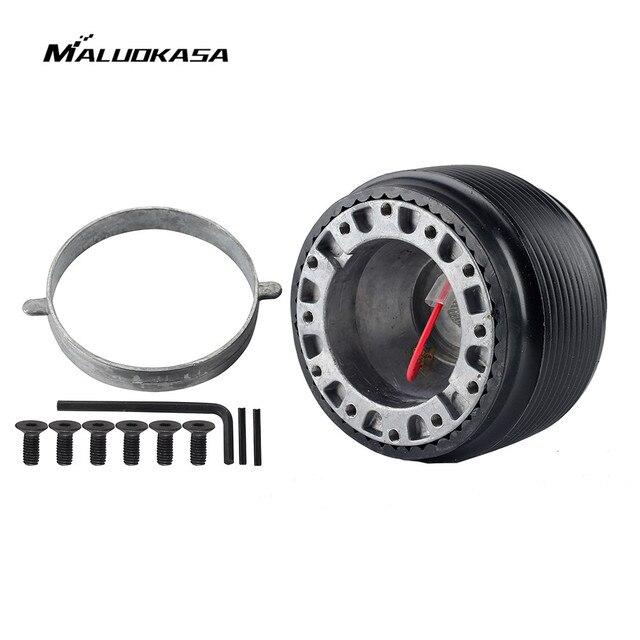 MALUOKASA Car Accessories Steering Wheel Adapter Hub Boss Kit for Nissan  S13 S14 S15 Skyline R32 R33 GTR Automobiles Spare Part
